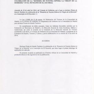 Acuerdo-C.-M.-Romería-de-Interés-Turístico