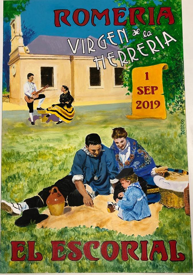 CARTEL ROMERIA VIRGEN DE LA HERRERIA 2019